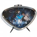 Doctor Who Eleventh Doctor and Amy Pond Alarm Clock