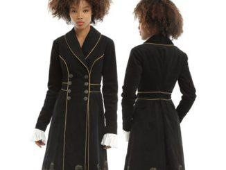 Doctor Who Embroidered TARDIS Girls Corduroy Coat  sc 1 st  GeekAlerts & Doctor Who TARDIS Coat