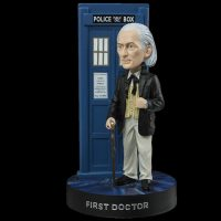 Doctor Who First Doctor William Hartnell Light-Up Bobble Head