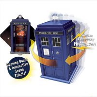 Doctor Who Flight Control Tardis Motion Activated Model