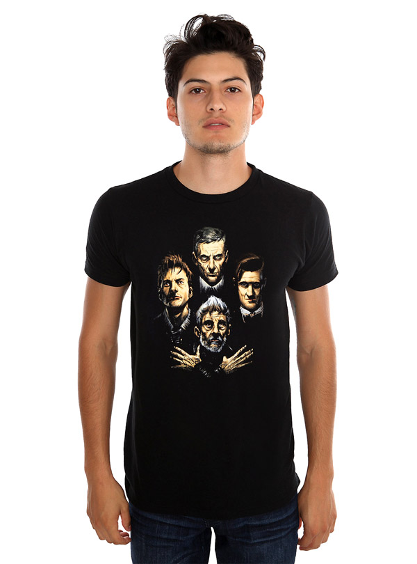Doctor Who Four Doctors 1 Variant Cover T-Shirt