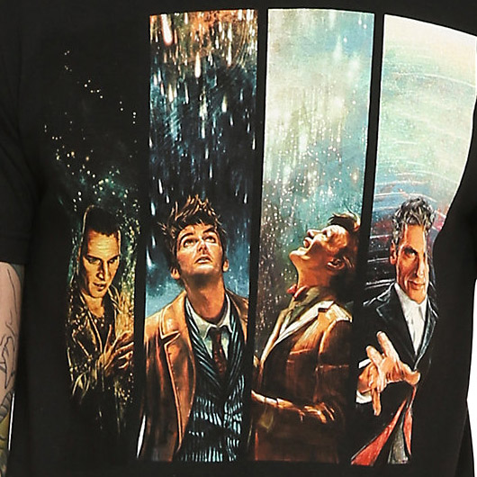 Doctor Who Four Doctors Shirt