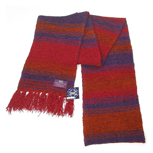Doctor Who Fourth Doctor Chenille Scarf