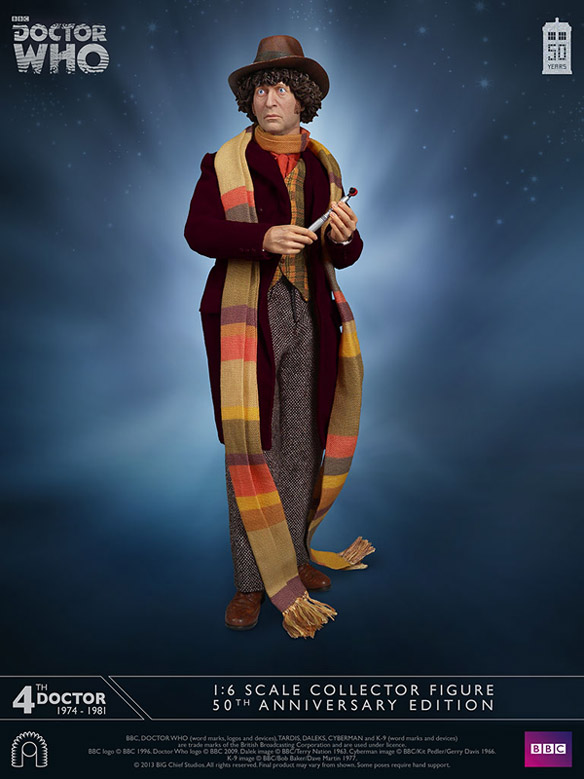 Doctor Who Fourth Doctor Signature Edition Collector Figure - 584
