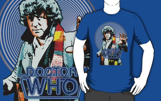 Doctor Who Fourth Doctor Spiral Shirt