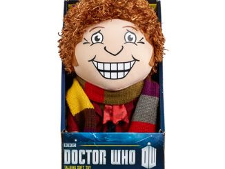 Doctor Who Fourth Doctor Talking Plush