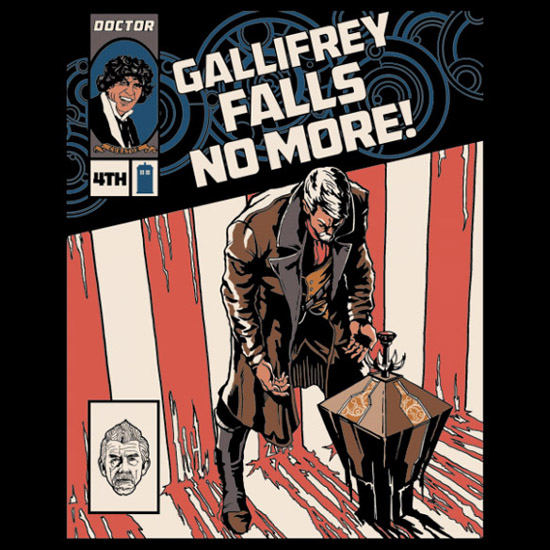 Doctor Who Gallifrey Falls No More Shirt