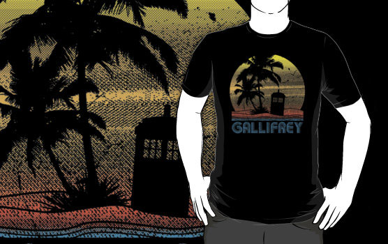 Doctor Who Gallifrey Shirt