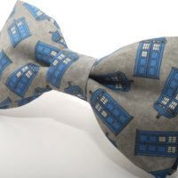 Doctor Who Gallifreyan Formal Wear - Scattered Police Box