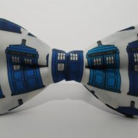 Doctor Who Gallifreyan Formal Wear - TARDIS Bow Tie