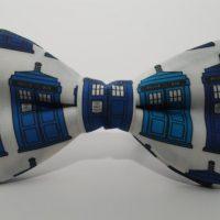Doctor Who Gallifreyan Formal Wear - TARDIS Bow Tie