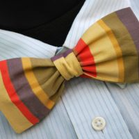 Doctor Who Gallifreyan Formal Wear - Tom Baker Fourth Doctor Bow Tie