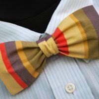Doctor Who Gallifreyan Formal Wear - Tom Baker Fourth Doctor Bow Tie