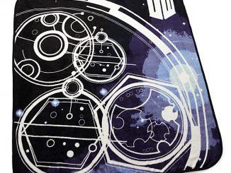 Doctor Who Gallifreyan Symbols Blanket