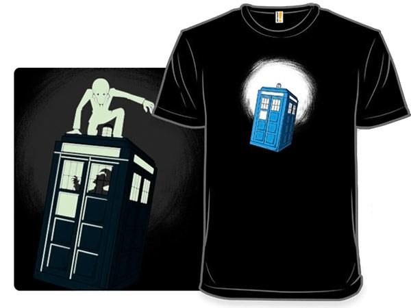 Doctor Who Glow in the Dark Passenger TShirt