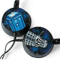 Doctor Who Headphones Detail