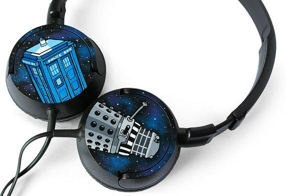 Doctor Who Headphones