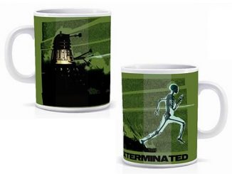 Doctor Who Heat Changing Skeleton Mug