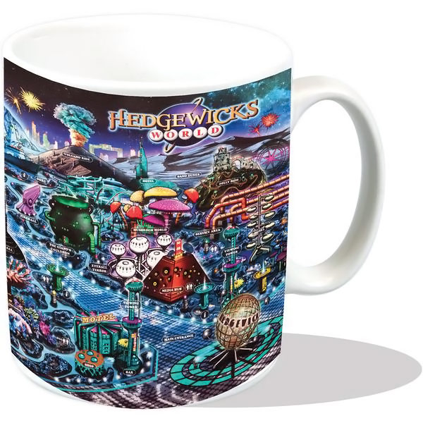 Doctor Who Hedgewicks Park Map Mug