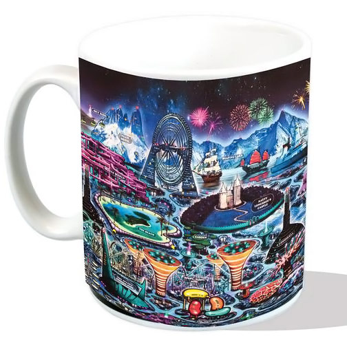 Doctor Who Hedgewicks Park Mug