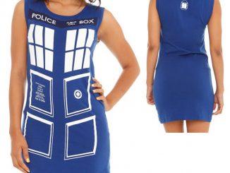 Doctor Who Her Universe TARDIS Tunic Tank