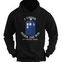 Doctor Who I Think Inside The Box Hoodie copy