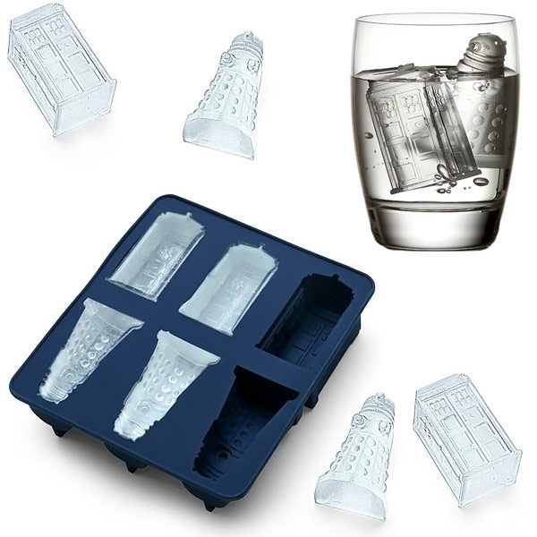 Doctor Who Ice Cube Tray