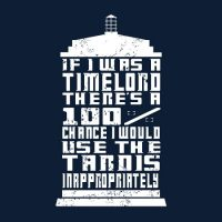 Doctor Who If I Was A Time Lord Shirt