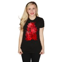 Doctor Who Ink Splatter Dalek T-Shirt