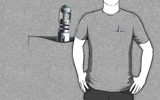Doctor Who Is That A Sonic Screwdriver in Your Pocket Shirt