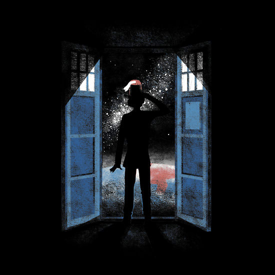 Doctor Who Its Bigger on the Outside TShirt