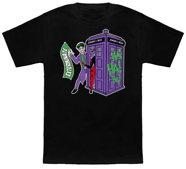 Doctor Who JokerBox Shirt