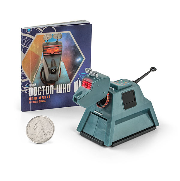 Doctor Who K-9 Book and Figure set