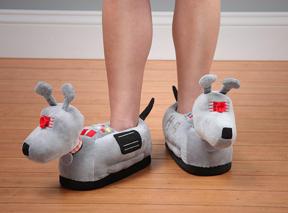 Doctor Who K9 Plush Slippers