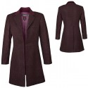 Doctor Who Ladies 11th Doctors Purple Coat