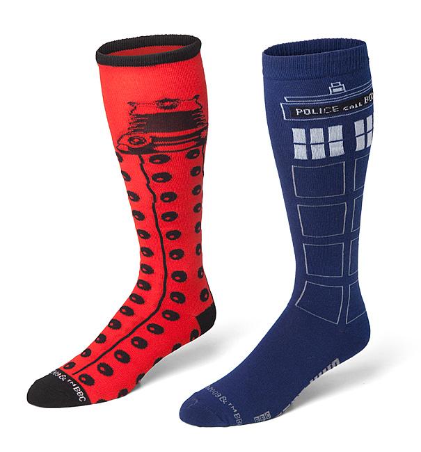 Doctor Who Ladies Crew Socks