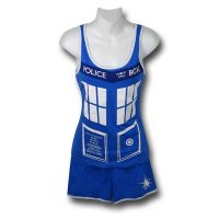 Doctor Who Ladies Tardis Pajama Set