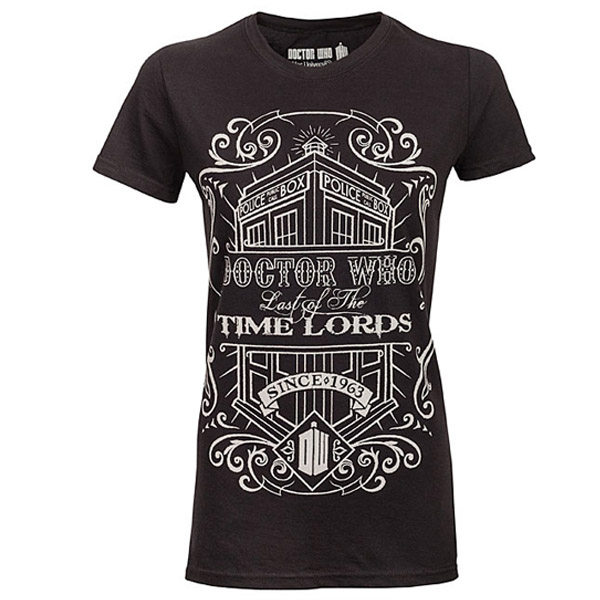 Doctor Who Last of the Time Lords Vintage Ladies Tee