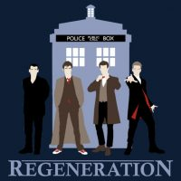 Doctor Who Latest Regenerations T-Shirt