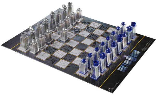Doctor Who Lenticular Animated Chess