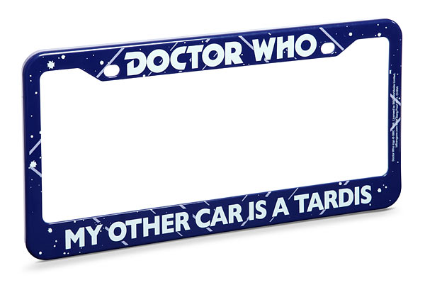 Doctor Who License Plate Frame