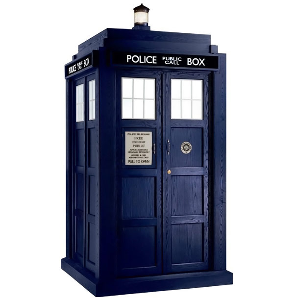 Doctor Who Life Size TARDIS Stand Up Cutout