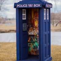 Doctor Who Life-Size TARDIS inside