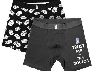 Doctor Who Logo Boxer Briefs 2-pack