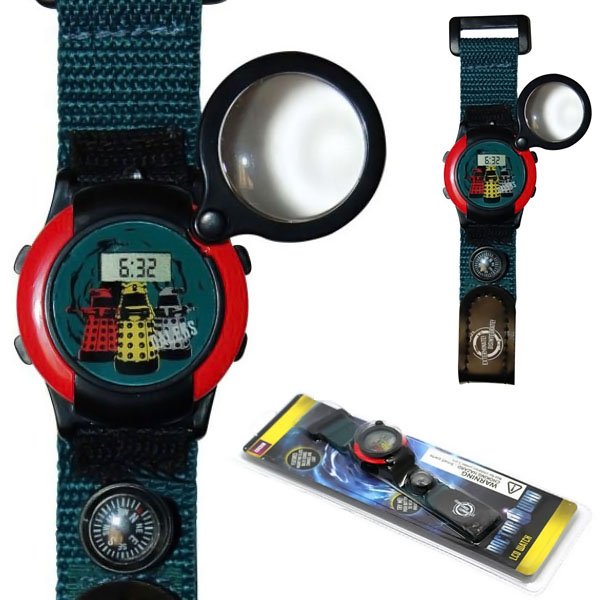Doctor Who Magnifying Watch and Compass