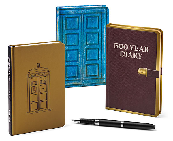 Doctor Who Mini Journal Set SDCC Exclusive