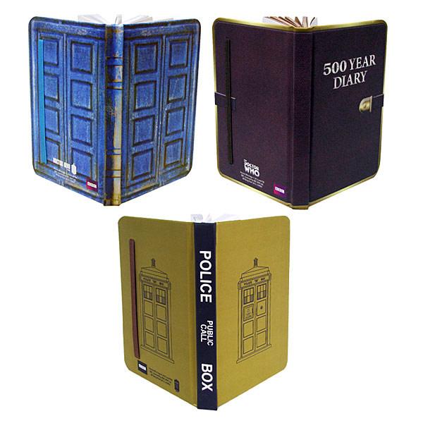 Doctor Who Mini Journal Set