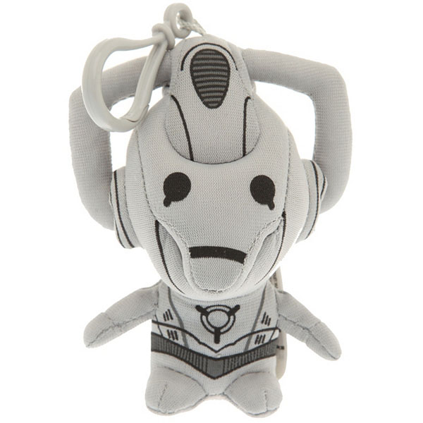 Doctor Who Mini Talking Plush Cyberman Clip-On