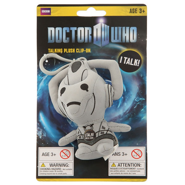 Doctor Who Mini Talking Plush Cyberman