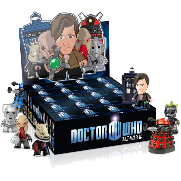 Doctor Who Mini Vinyl Figures Series 1
